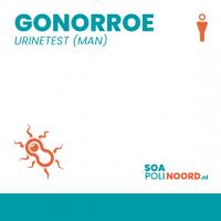 Gonorroe (urinetest man)